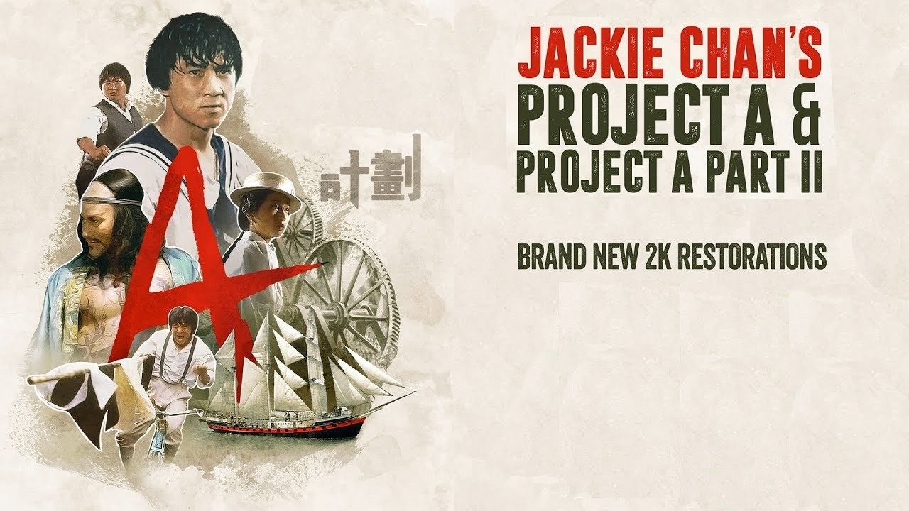 DVD Review: Jackie Chan's Project A and Project A Part II